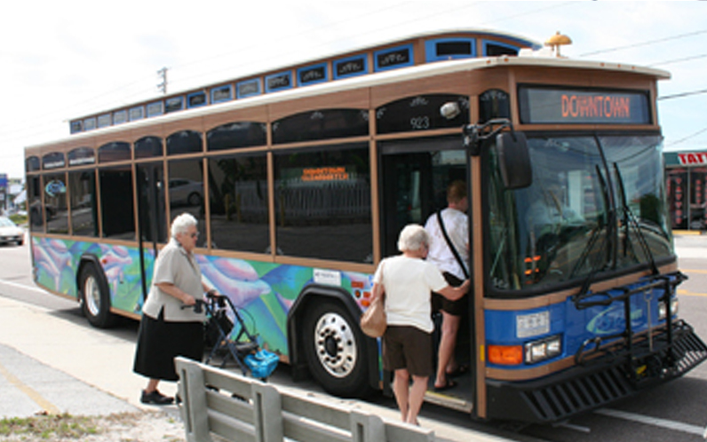 Suncoast Beach Trolley