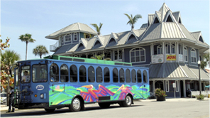 The original Suncoast Beach Trolley