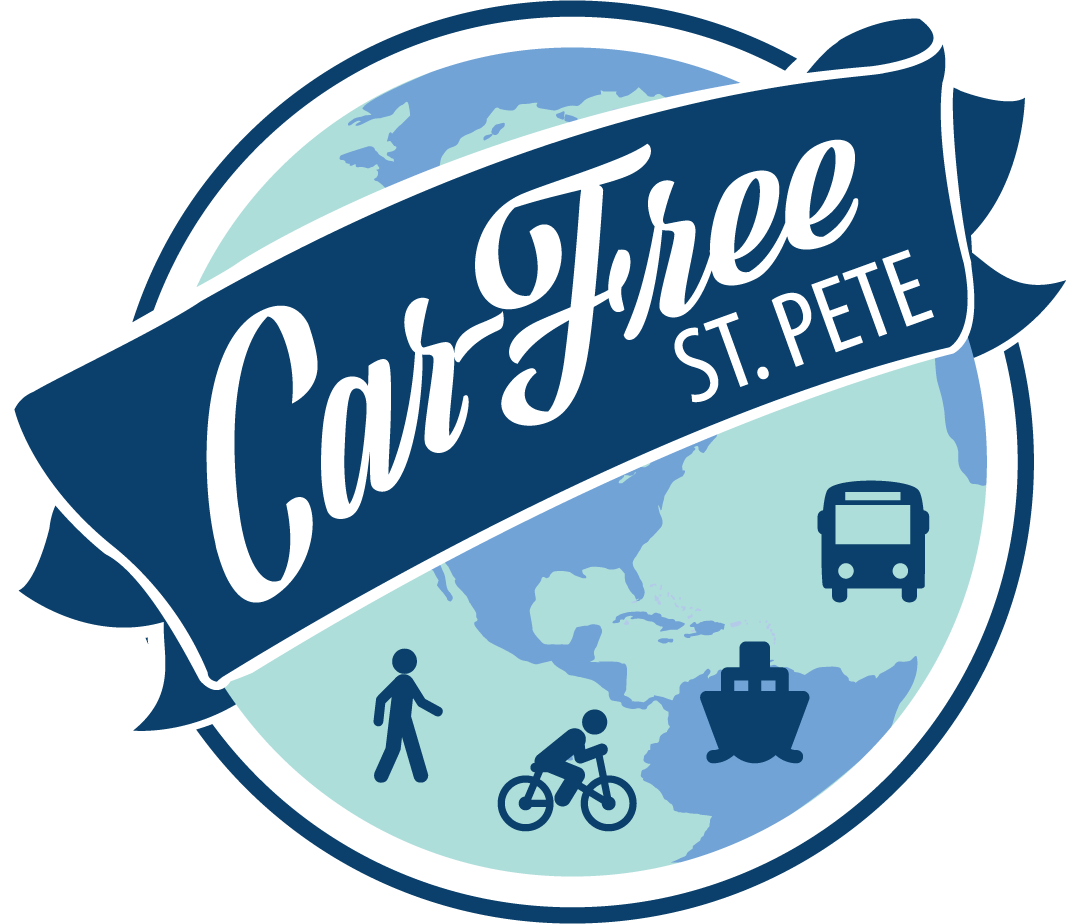 Car-Free St. Pete Logo